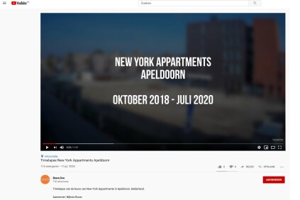 Timelapse The New York Apartments